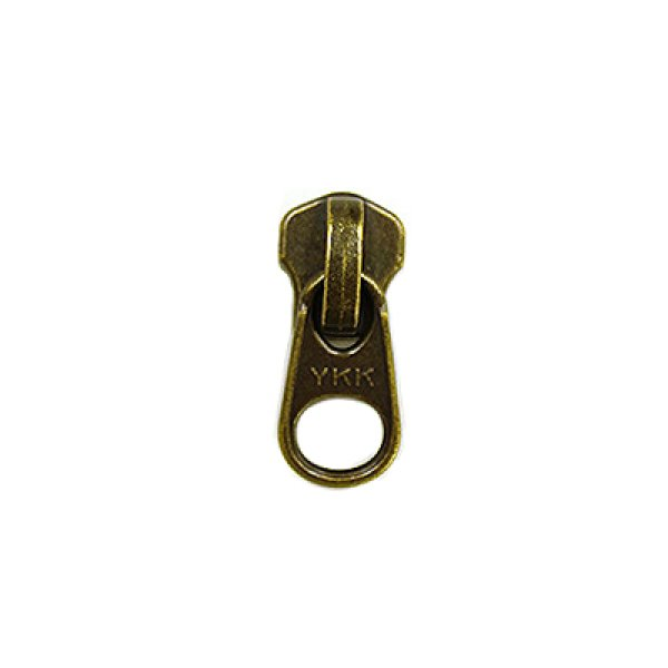 画像1: 5番手金属ファスナー用 短引手 AT 5ヶ入 (1)
